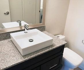 Bathroom, Barton Hills Apartments