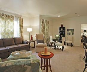 Living Room, The Cedars at Wellington Lake