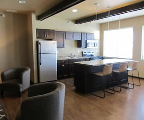 Kitchen, West Ridge Apartments