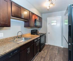 Kitchen, Grandeagle Apartments