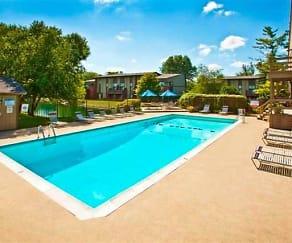 Pool, Landmark Apartments & Townhomes