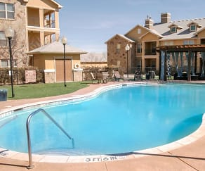 Pool, Blue Ridge Apartments
