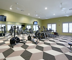 Fitness Weight Room, Arbor Trace @ Canopy
