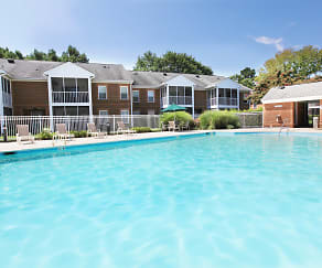 Pool, Rose Hall Apartments