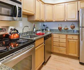 Kitchen, Latrobe Apartments