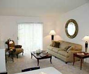 Living Room, Prairie Creek Townhomes