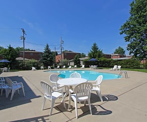 Pool, River Run Apartments