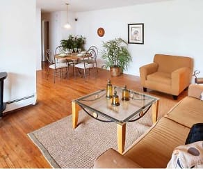 Living Room, Tov Manor Apartments