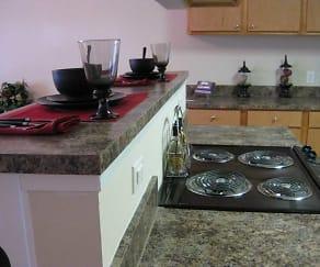 Kitchen, Bridgeway II Apartments and Townhomes