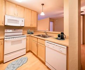 Kitchen, Maple Ridge Apartment Homes