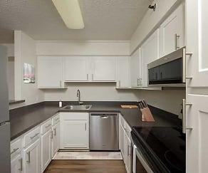Kitchen, eaves Fairfax Towers