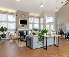 Clubhouse Interior, Landmark at Bella Vista Apartment Homes