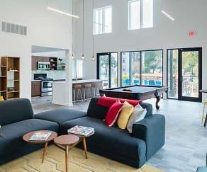 Living Room, Haven Apartments