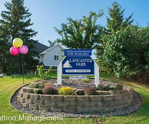 Community Signage, Lancaster Park Townhomes