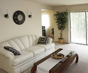 Living Room, Burnam Woods Apartments