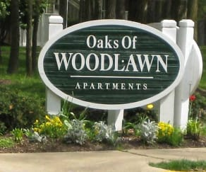 Community Signage, Oaks of Woodlawn