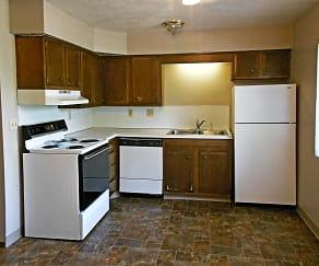 Kitchen, Lakeview Village - Ralston