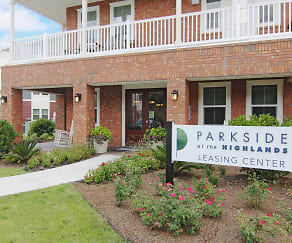 Community Signage, Parkside at the Highlands Apartments