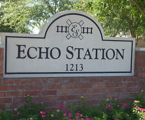 Community Signage, Echo Station