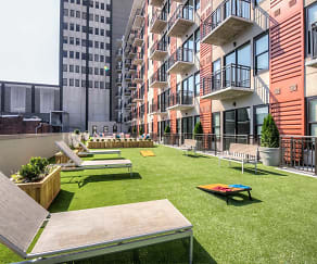 Patio / Deck, Market City Center Apartments