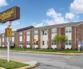 Community Signage, Driftwood Apartments