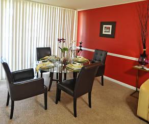 Dining Room, Belford Towers