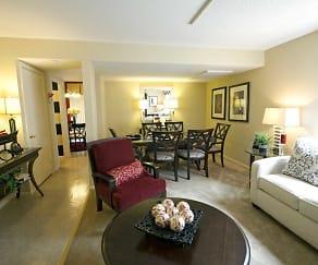 Living Room, Howard Hills Townhomes