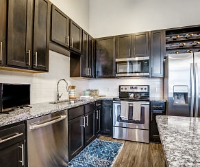 Kitchen, Verus Apartments