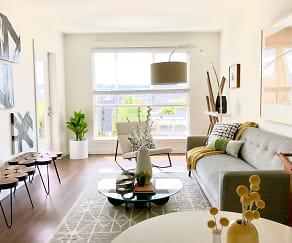 Living Room, Linden Apartments