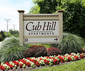 Community Signage, Cub Hill Apartments