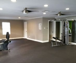 Fitness Weight Room, Park West Apartment Homes
