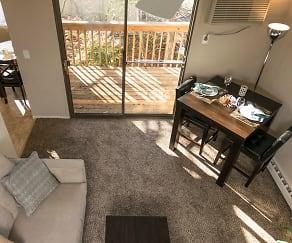 Living Room, Ridgefield Apartments