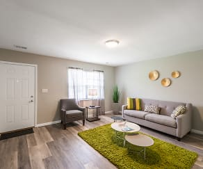 Living Room, The Springs Townhomes