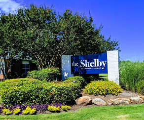 Community Signage, The Shelby Apartment Homes