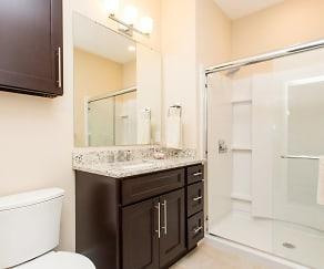 Bathroom, The Point at Hudson