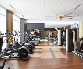 Fitness Weight Room, 7575 Town Center