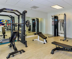 Fitness Weight Room, The Waterford on Piedmont