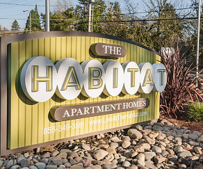 Community Signage, The Habitat Apartment Homes