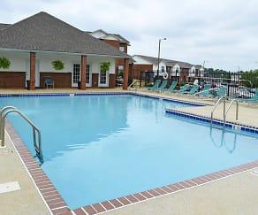 Pool, Palisades Apartments