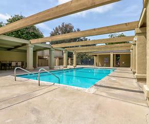 Pool, Mission Villa Luxury Townhomes