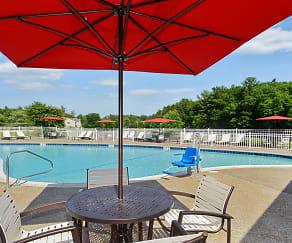 Pool, Bay Ridge at Nashua Apartments