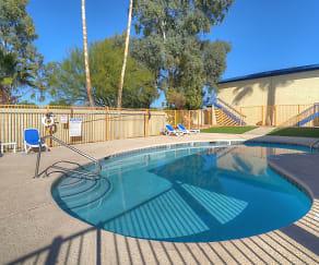 Pool & Pool Patio, University Manor
