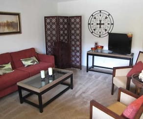 Living Room, Casa Flores Apartments