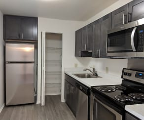Kitchen, Hanover Apartments