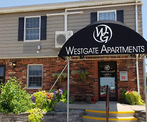Westgate Apartments, The High School Of St Thomas More, Champaign, IL