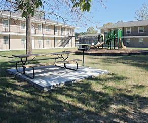 Recreation Area, Terrace of Hammond Apartments