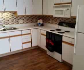 Kitchen, Deer Park Apartments