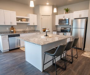 Kitchen, Haven Cove Townhomes