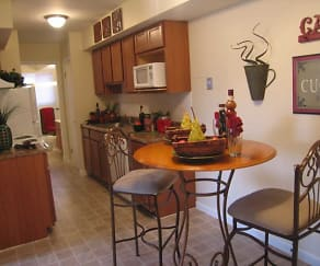 Kitchen, Hafner Court Apartments