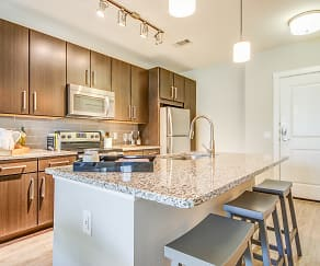 Kitchen, The Parc at White Rock Apartments